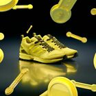 Adidas Originals Zx 5000 Torsion Fz4645 Bright Yellow Shock Cyan