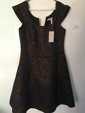 Christmas Party Dress Wedding Pepperberry ROSE JACQUARD RRP £85 NWTSize 12 C