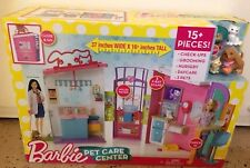 New Barbie Pet Care Center Playset great gift Holidays Sale