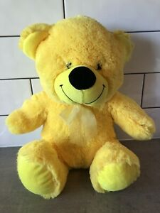 Elka Yellow Soft Plush Stuffed Teddy Bear Animal Doll Toy 35cm