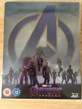 Avengers Endgame 3D Blu Ray Steelbook