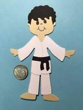 1 Karate Boy Premade PAPER Die Cuts / Scrapbook & Card Making