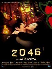 Affiche 40x60cm 2046 (2004) Wong Kar-Wai - Tony Leung Chiu Wai, Gong Li NEUVE