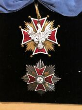 Poland,Republic,Order Of The White Eagle Knight Grand Cross Set Of Insignia