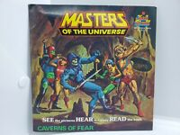 Masters of the Universe, Caverns Of Fear Record and Book Set 1984 Kid Stuff
