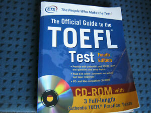 TOEFL Test - The Official Guide 4th edition mit CD ROM
