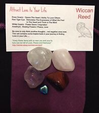 Attract a Lover  Stone Kit  Wiccan Pagan Metaphysical