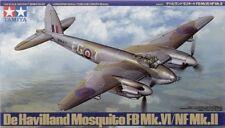 Tamiya 1/48 Mosquito FB Mk.VI/NF Mk.I Model Kit 61062 TAM61062