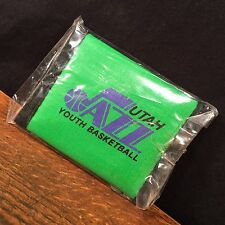 Vintage wallet Billfold Nylon NBA Utah Jazz Youth Basketball Smokey the Bear