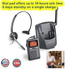 Headset Phone Plantronic 6.0 Wireless Network 300 Ft Set CT14 Cordless Hand Free