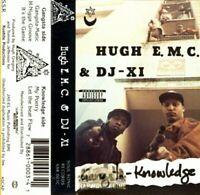 Hugh E.M.C. & DJ-X1 - Gangsta-Knowledge [Cassette Tape] Bay Gangsta Rap Hip-Hop