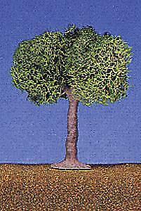 LIFE LIKE SMALL GREEN SHDE TREES 4/ | 1902
