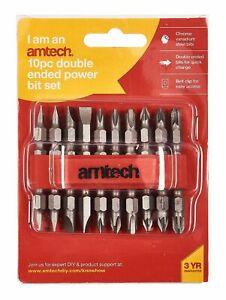 AMtech 10pc Double Ended Power Bit Set -L2600