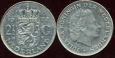 PAYS BAS  2 1/2  gulden  1972  ( bis )