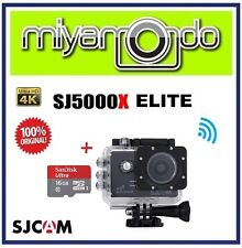 SJCAM Original SJ5000X Elite 4K WiFi Action Camera (Black) + microSD 16GB