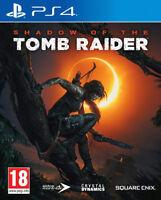 PS4 Shadow of the Tomb Raider 100% Uncut NEU&OVP Playstation 4 Paketversand