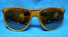Vintage 80s Vaurnet 002 Pouilloux Brown Frame Sunglasses w/ Sergio Tacchini Case