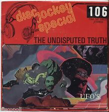 """THE UNDISPUTED TRUTH - Ufo's - VINYL 7"""" 45 LP ITALY 1975 VG+ /VG- CONDITION"""