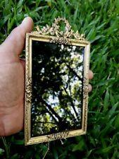Antique French Ormolu Picture Frame Bronze Original  7 inches