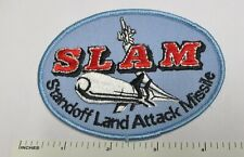 US MILITARY SLAM MISSILE PATCH Standoff Land Attack Missile Vintage Original