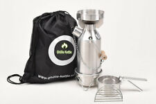 Ghillie Kettle 0.5L Maverick Aluminium Full Kit.