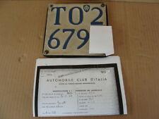 MOTO GARELLI 1948 348 CC ACCESSORIO D'EPOCA OLD ITALY