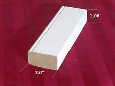 "plantation shutter materials flat stile primed basswood 75"" (1 PC)"