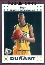 KEVIN DURANT ~ 2007-08 Topps Basketball Rookie Card RC #2 ~ Grade: Mint