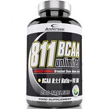 Anderson 811 Bcaa 8:1:1 200 cpr.  Aminoacidi ramificati 8:1:1 + Vitamina B6