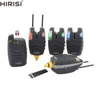 Waterproof Carp Fishing Bite Alarm Set with Snag Ear Bar Wireless Fishing Alarm