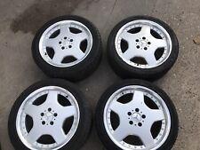 """Mercedes Alloy Wheels 18"""" 5x112 235/40/18 8J After Market"""