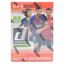 2018/19 Panini Donruss fútbol Blaster Caja 11 Packs (Sancho Mbappe Davies Royal Crown?)