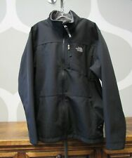 NORTH FACE BLACK SOFT SHELL FLEECE LINED DENALI TECH JACKET BOY YOUTH XL 18/20