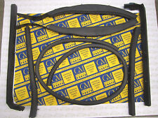 1957-1958 Buick and Cadillac Convertible Roof Rail Weatherstrip Set | Free Ship