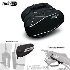 SHAD Kit fijaciones y bolsas semirigidas + bolsa pierna regalo 3D E48  HONDA CB