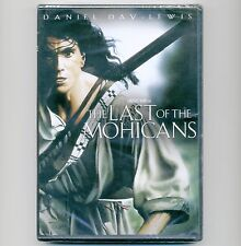 Last of the Mohicans 1992 R movie, new DVD JF Cooper, Daniel Day-Lewis, M. Stowe