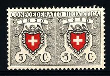 SWITZERLAND - SVIZZERA - 1950 - Pro Patria. 100° del primo francobollo federale
