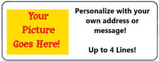 """120 Personalized """"Create Your Own"""" Return Address Labels"""