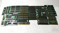 LOT 55+ Older Vintage Computer Desktop PC Memory Ram Sticks Modules Assorted Mix