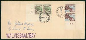 Mayfairstamps South Africa 1963 Walvisbaai Bay Dam Block Crops Block Cover wwp_5