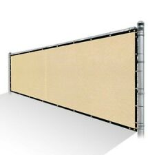 COLOURTREE 4 ft. x 56 ft. Beige Privacy Fence Screen HDPE Mesh Windscreen w/grom