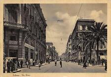 3240) PALERMO VIA ROMA, ANIMATA, VIGILE URBANO UNIONE PUBBLICITA' ITALIANA.