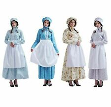 Reenactment Women Dress Colonial Costume Pioneer Dress Puritan Skirt Civil War