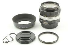 [MINT] Nikon Nikkor-O Auto 35mm f2 Ai Converted MF Lens w/ Hood from JAPAN