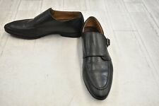 Dapper Shoes Co. Double Monkstrap Loafer - Men's Size 8 - Black