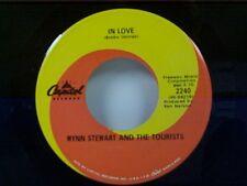 """WYNN STEWART """"IN LOVE / MY OWN LITTLE WORLD"""" 45"""