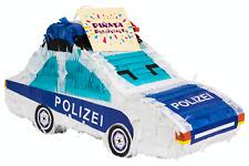 Pinata Geburtstag Polizei Auto, Pinjatta zum Befüllen als Kinder Spiel