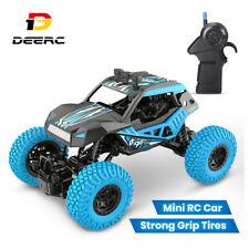 DEERC RC Mini Auto Ferngesteuert Spielzeug Fahrzeug mit 2 Akkus für Kinder