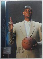 1997 97-98 Upper Deck Tim Duncan #114, RC Rookie Spurs HOF