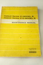 Fanuc Series 21 Model B 210 Model B Maintenance Manual #1